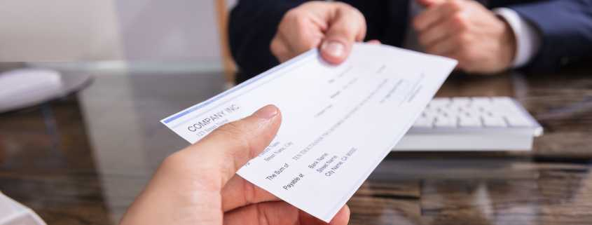 chèque impayé